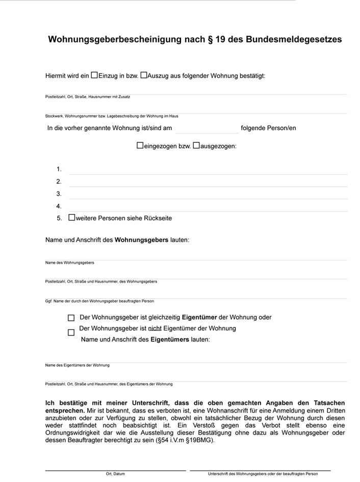 Wohnungsgeberbestatigung 2020 Vermieterverein E V 5