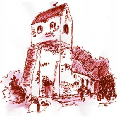 Zeichnung Kirche