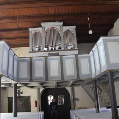 Kirche Grassau Orgel