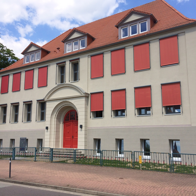 sekundarschule bismark haupteingang01 © Landkreis Stendal, Hochbauamt
