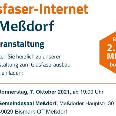 DNSNET Infoveranstaltung Messdorf