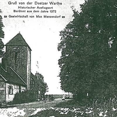 Postkarte vom 25.12.1934 © Stadt Bismark