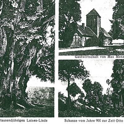 Postkarte vom 09.06.1920 © Stadt Bismark